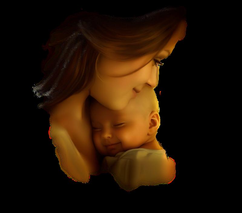 Красивые картинки к дню матери на прозрачном фоне
